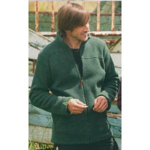 Veste Polaire homme en laine bio tissée polaire