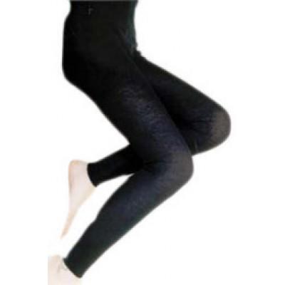 Leggings  laine bio et coton bio avec 2% d'élasthanne