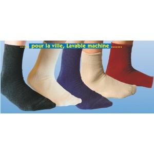 Socquette de ville laine/coton bio - chaussettes bio