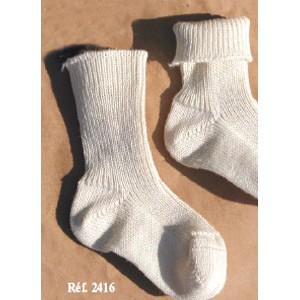 """Socquettes laine élevée et traitée """"bio"""""""