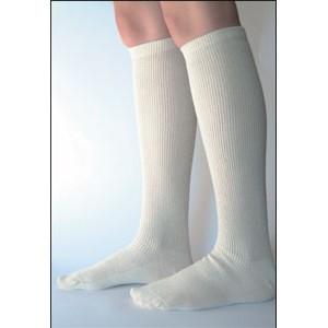 chaussette HIVER écru laine 70%/ coton bio 30%, épaisseur chaussure de ville