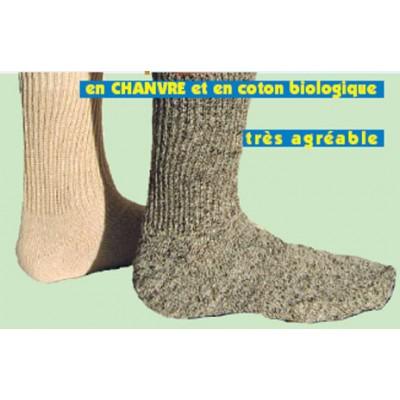 Socquettes chanvre - Chaussette bio