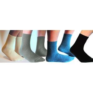 Socquettes enfant Toutes Tailles coton bio écru, bleu marine