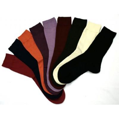 Socquettes fines uni en coton biologique, pointures 35/36 au 41/42