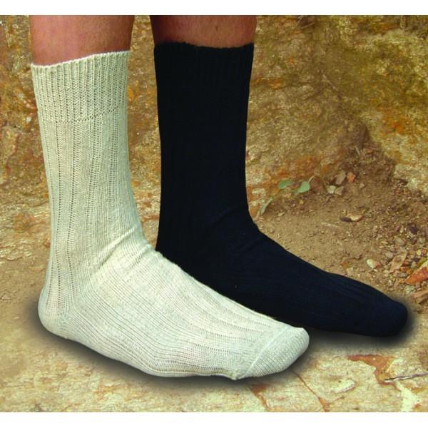Socquettes soir d automne coton bio   lin – chaussettes bio bb1698169e94