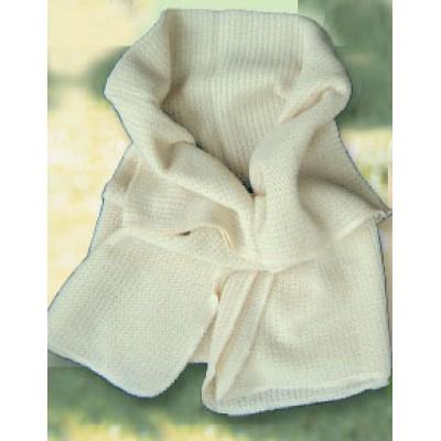 couverture deuxième peau,  laine bio tricotée