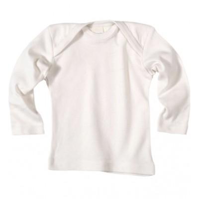 Maillot col croisé manches longues laine bio et soie - Sous vêtement bio