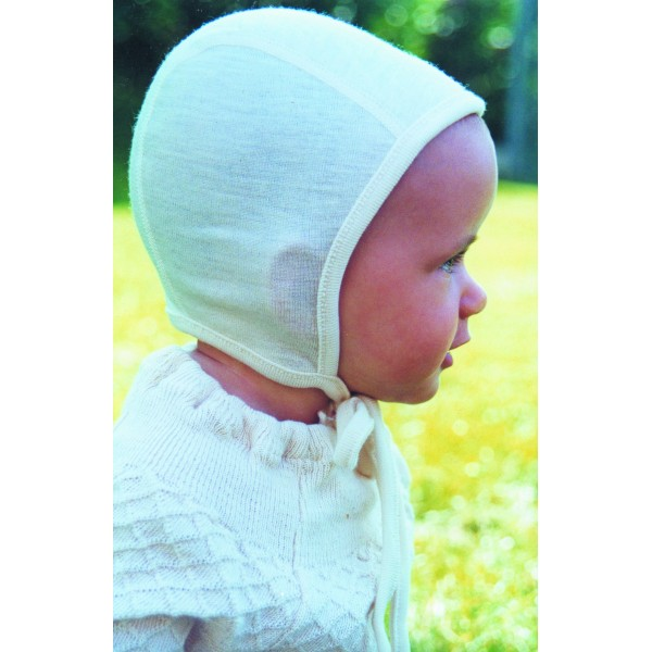 f9efbf6cfcc bonnet d intérieur écru coton biologique - Vêtement bébé bio